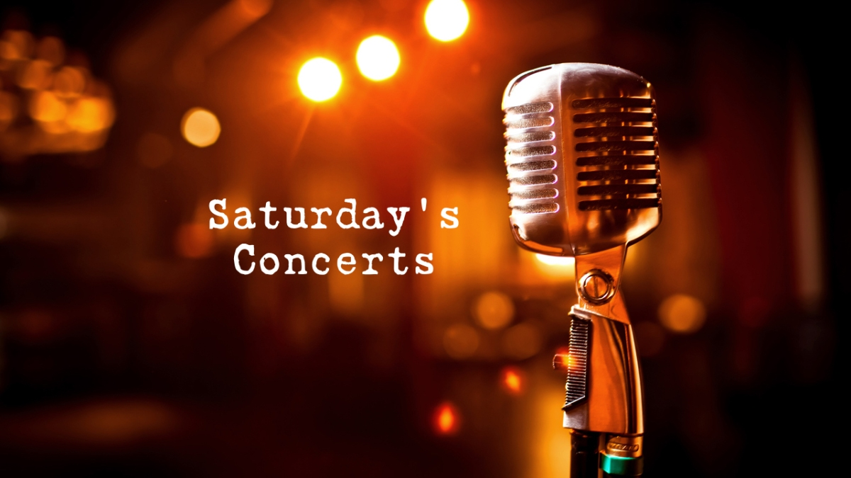 Buzzing about the Saturday B/CS concerts for December8