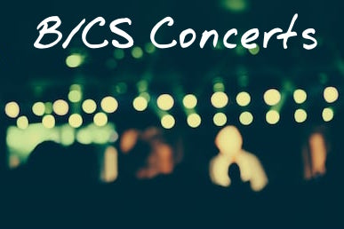 Buzzing about Thursday's B/CS concerts for January 3